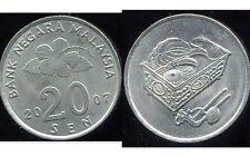 MALAISIE 20 sen 2007