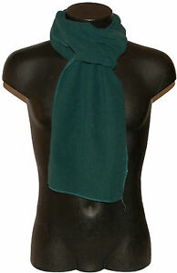 Pashmina Scarf Sport Stole Scarf Man Woman Solid Colour Soft Fleece Green
