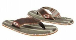 Margaritaville Double Shot leather sandal sz 9 Med NEW