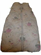 Odenwälder Baby-Nest toller Schlafsack 92 cm weiß mit Elefanten Motiven !!