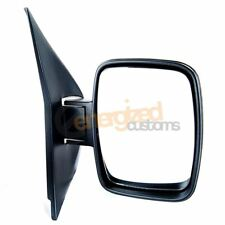 Mercedes V Class W638 1996-2003 Manual Black Cover Wing Door Mirror Drivers Side