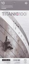Canada 2012 BK485 Stamps #2536-37 Titanic (10 stamps in booklet) - Unused