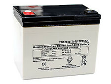 Replacement Battery For Honda Es6500 Generator 35Ah Agm With M6 Insert Terminals