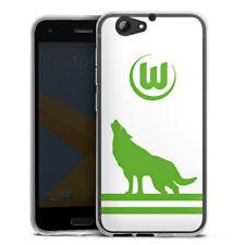 HTC One A9 s Silikon Hülle Case HandyHülle - Vfl Wolfsburg - Wolf