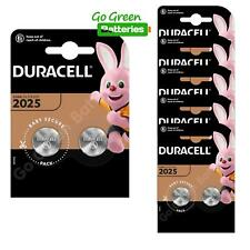 12 x Duracell CR2025 3V Lithium Coin Cell Battery 2025, DL2025, BR2025, SB-T14