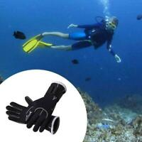 3mm Non-slip Wetsuit Gloves Diving Spearfishing Swim Kayak Cold-proof Surf S6J4