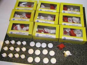 Puppenhausmöbel  Puppenhaus  Teller Tassen  10  x  Händler Paket   DDR  Vero
