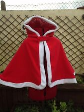 childs cape christmas design fully lined