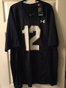Notre Dame Under Armour 1988 Throwback Jersey 2XL NWT New 2019