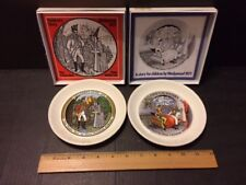 Wedgwood plates-Hans Christian Anderson-Children's collectible-1971-'72 w/boxes