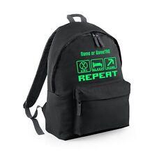 EAT SLEEP MINE Backpack Bag - Optionally Personalised