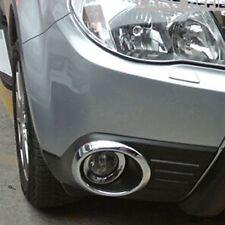 For Subaru Forester  2009 2010 2011 2012 Chrome Front Fog Light Lamp Cover Trim