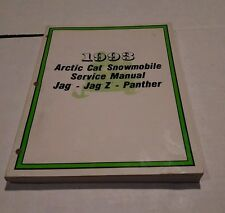 1993 ARCTIC CAT SNOWMOBILE JAG, JAG Z , PANTHER SERVICE MANUAL 201pages