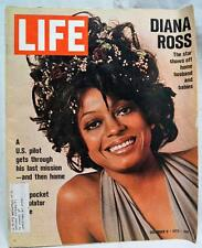 LIFE MAGAZINE 8 DECEMBER 1972 VINTAGE NEWS & ADVERTISING - DIANA ROSS COVER