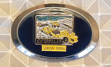 Caterpillar 1996 Show, CAT Tractor, Equipment, Earth Moving BELT BUCKLE