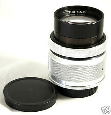 TELOR O 85mm F2 lens Carl Zeiss Jena Sonnar Jupiter-9 for Pentax M42 Canon Nikon