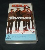 THE BEATLES HELP VHS VIRGIN RELEASE SMALL BOX