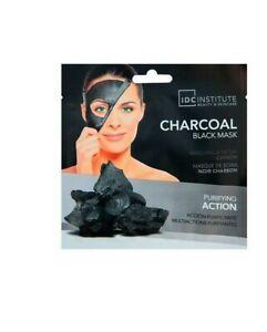 Masque feuille charbon noir - Purifiant