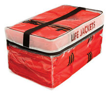Kent Type II Adult Life Jackets 4 Pack with Clear Storage Bag, USCG Approved
