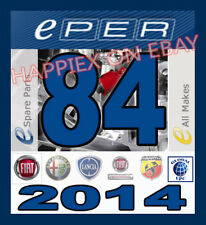EPER 84 FIAT LANCIA ALFA ROMEO ABARTH CARS+VANS EPC PARTS CATALOGUE RICAMBI