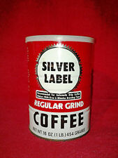 Silver Label Regular Grind Coffee Tin Can 16 oz.