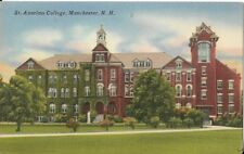 St Anselms College Manchester New Hampshire Postcard