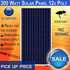 New 300 Watt 12v Polycrystalline Solar Panel 300W