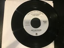 PROMO 45 Joe Jackson  IT'S DIFFERENT FOR GIRLS mono / stereo A&M NM