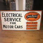 1940s+United+Motors+Elecrical+Service+Double+Sided+Porcelain+Sign