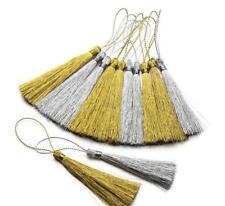 NEW 30X Gold/silver tassel Pendant Bookmark tassels Jewelry Accessories crafts