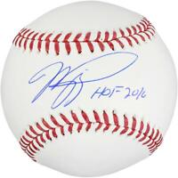 Mike Piazza Mets Signed Baseball with HOF 16 Insc - Fanatics