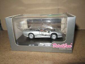 151Q DetailCars Collection Art.170 Jaguar XJ220 1992 Argenté 1:43 Neuf + Boite