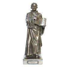 Figur Martin Luther Neue Testament Reformator Bronzeoptik