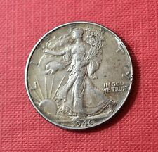 USA- 1946 Walking Liberty Half Dollar, Silver Coin         [#5738]