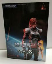 Mass Effect 3 Female Commander Jane Shepard figure toy Square Enix Play Arts Kai