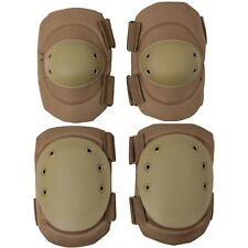 NEW COMPLETE SET OF MILITARY KNEE /& ELBOW PADS GALLS BRAND TAN