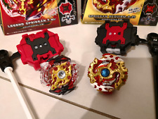 2018 Beyblade Burst B-100 and B-86 Spriggan.7.mr and Requien.o.zi launchers incl
