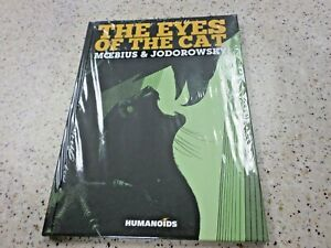 == HUMANOIDS GRAPHIC NOVEL,HARDCOVER,THE EYES OF THE CAT,MOEBIUS & JODOROWSKY
