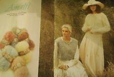 Knitting Pattern books Wendy Amalfi x 12 Patterns Men & Women Jumpers