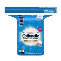 Cottonelle Flushable Cleansing Cloths Fresh Care 252 Refill  Wipes Toilet Safe