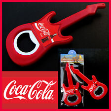 1 x Coca Cola Red Guitar ( 2 in1 ) Magnet & Bottle Opener Souvenir Coke Thailand