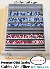 Pacifica Voyager Caravan,Grand Caravan CARBONIZED CABIN AIR FILTER 35494