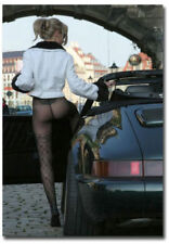 "Big Ass Black Porsche Beautiful Sexy Girl Collection 2""x 3"" Photo Fridge Magnet"