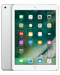 Apple iPad 5th Generation 32 Go Wi-Fi 9.7Inch - Argent. Reconditionnement garant