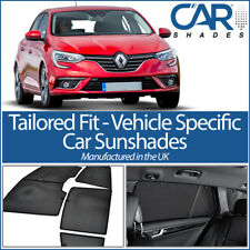 Renault Megane 5dr 2016> UV CAR SHADES WINDOW SUN BLINDS PRIVACY GLASS TINT