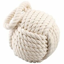 NEW Heavy Rope Knot Doorstop 7 Diameter FREE SHIPPING
