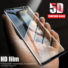 9H Full Cover 5D Curved Tempered Glass Screen Protector For Samsung Galaxy S9