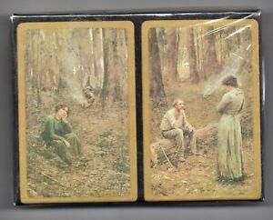 #N.006 Vintage Swap / Playing Card SEALED DECK, Frederick McCubbin Pioneer