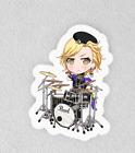 "Bang Dream, Bandori. Laminated 3"" Sticker. Raise a Suilen Masking Chibi"