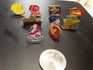 McDonalds Various Pins